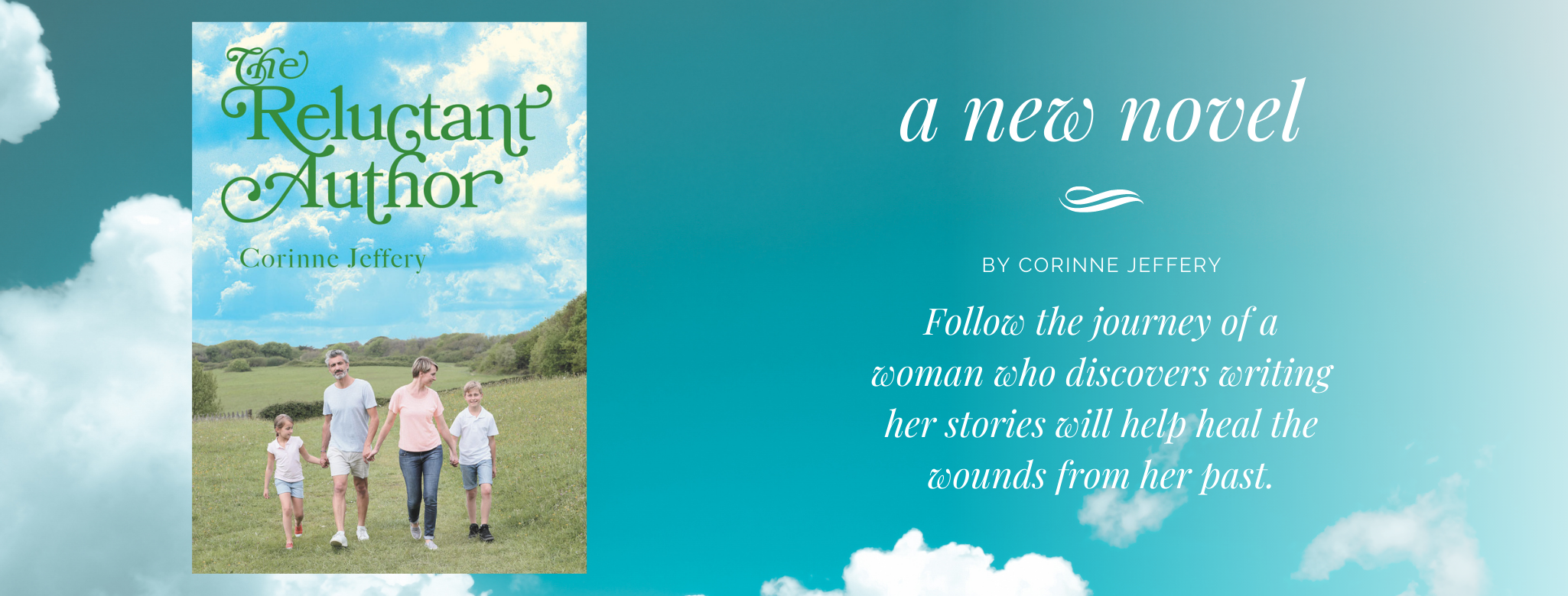 Reluctant Author Facebook Cover